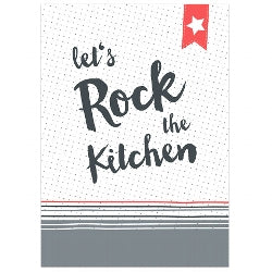 Load image into Gallery viewer, Kitchen Towel - Let's Rock the Kitchen