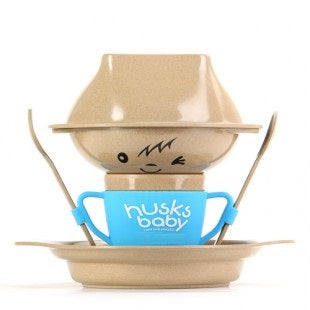 Rice Husk Collection - Husk Baby Creative Collection (7 PC) BLUE
