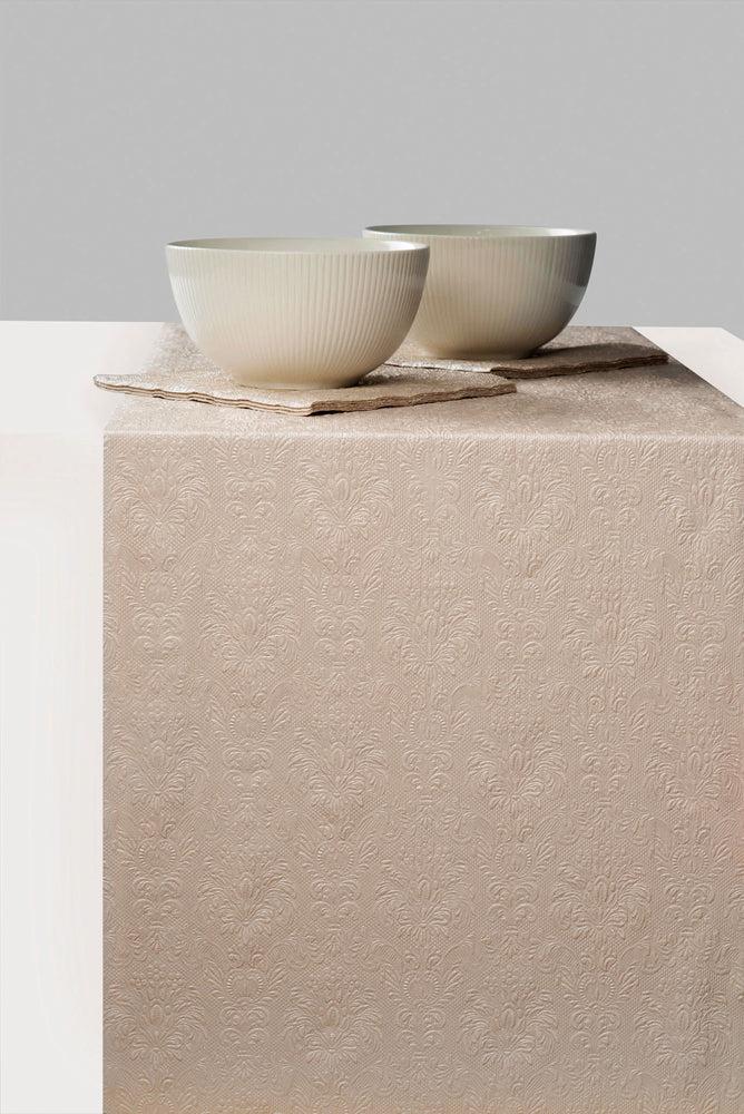 TABLE RUNNER - Elegance PEARL TAUPE (33 x 600 cm) - COLLECTION