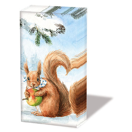 Load image into Gallery viewer, Pocket Tissue - Squirrel Love -COLLECTION
