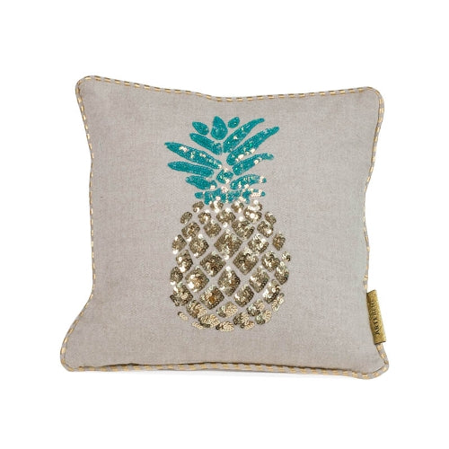 CUSHION - Glitter Pineapple Sequins