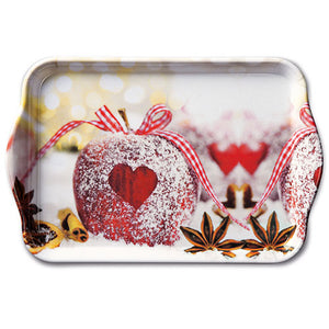 TRAY - Heart on Apple (13 x 21 cm) - COLLECTION