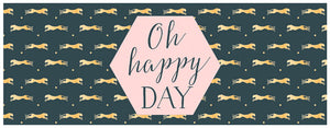 Load image into Gallery viewer, Greeting Card LONG - All Occasions (Cheetah - Oh Happy Day)