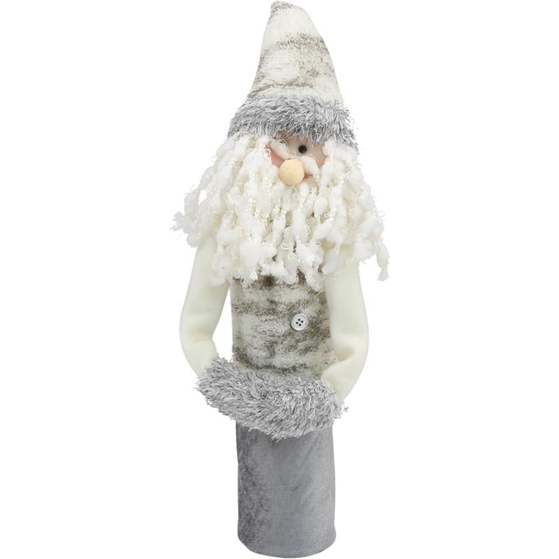 Wine Bottle Covers - Santa WHITE