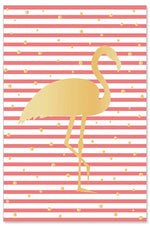 Greeting Card - All Occasions (Golden Flamingo)
