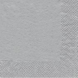Lunch Napkin - Uni SILVER (Collection: CH519769 & DH319769 & GH719769)
