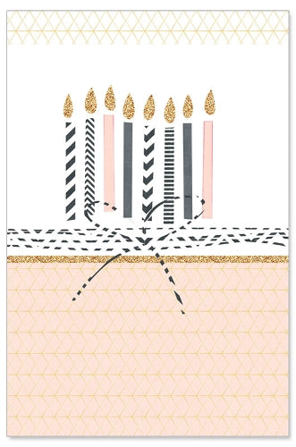 Greeting Card - Birthday (Birthday Candles)