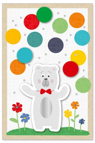 Greeting Card - Birthday (Kids - Bear)