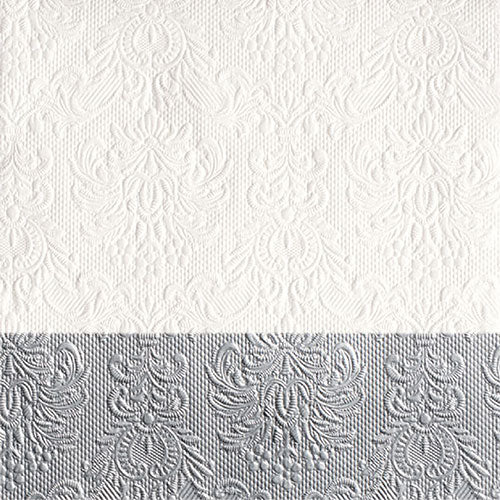 Lunch Napkin - Elegance Dip SILVER (Collection: 12511151)