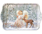 TRAY - Winter Angel (13 x 21 cm) - COLLECTION