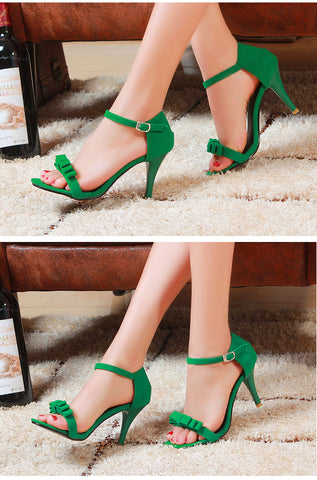 Simple is Sexy Ankle Strap Heels - uzoic
