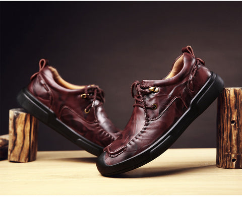 Walk In My Shoes Lace up Loafers - uzoic