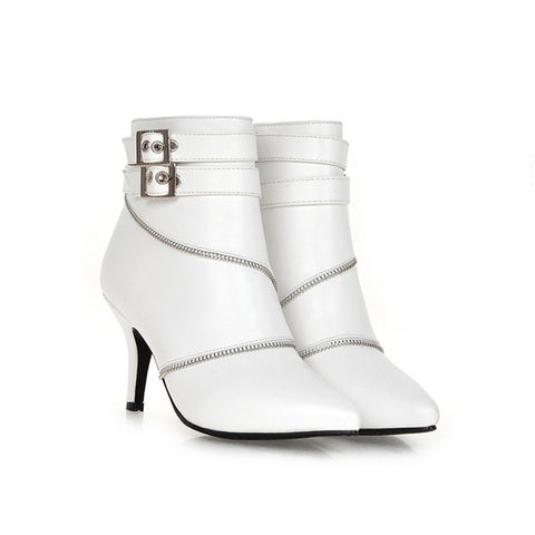 Fancy Buckle Women Heel - uzoic