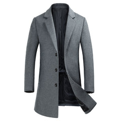 I Call It Class Wool Coat - uzoic