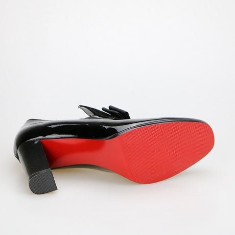Red Bottom High Heel - uzoic