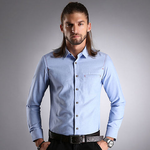 Urban Style Slim Fit Shirt - uzoic