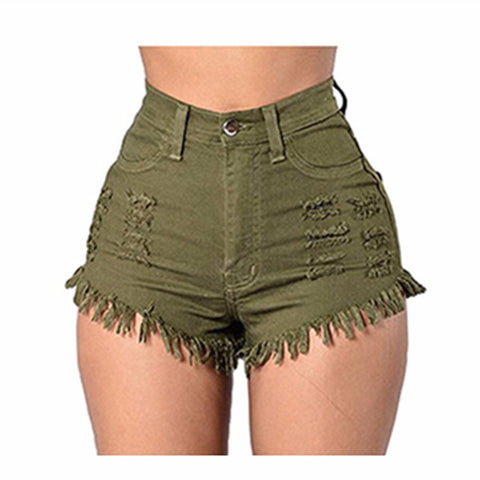 Headed Out High Waist Shorts - uzoic