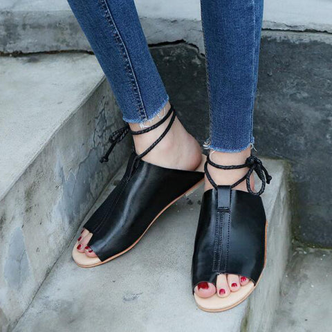 Women Ankle strap Sandals - uzoic