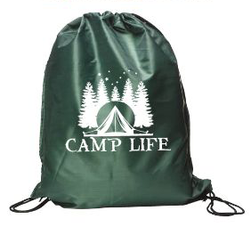Cinch Bag- Camp Life
