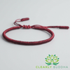 Image of Lucky Handmade Buddhist Knots Rope Bracelet