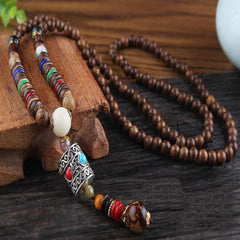 Ethnic Buddhist Necklace