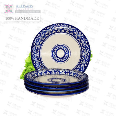 Blue Pottery Plates