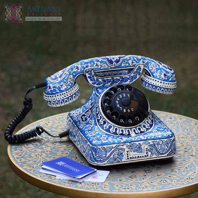 Hand Painted Telephones
