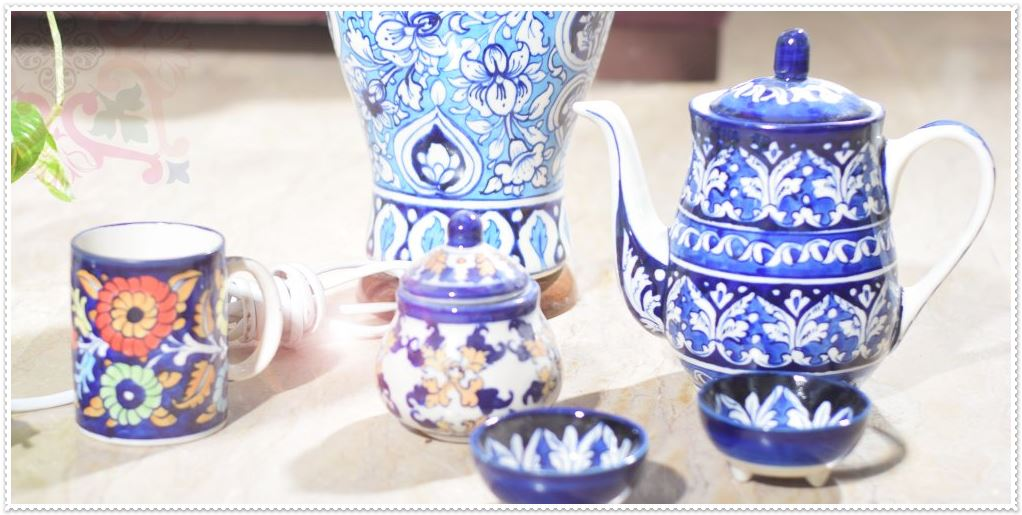 Demands and Trends of Blue Pottery