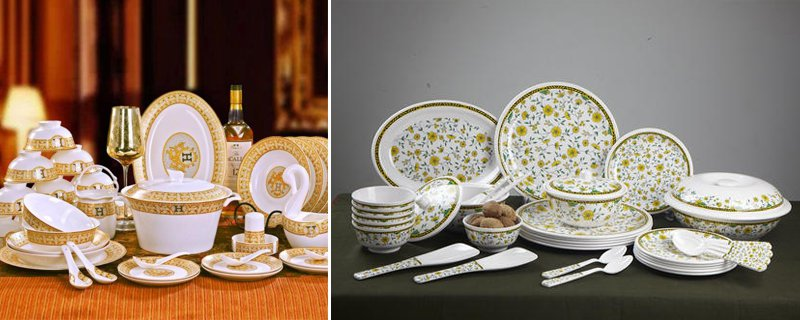 Plastic Dinner Sets Pakistan