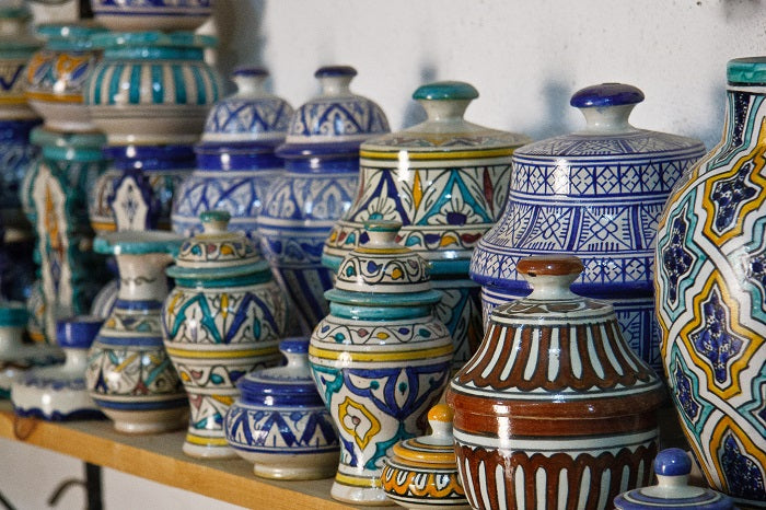 Types of Blue Pottery