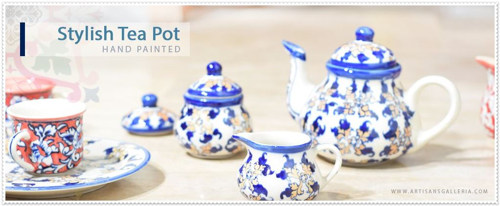 hand painted tea sets in pakistan