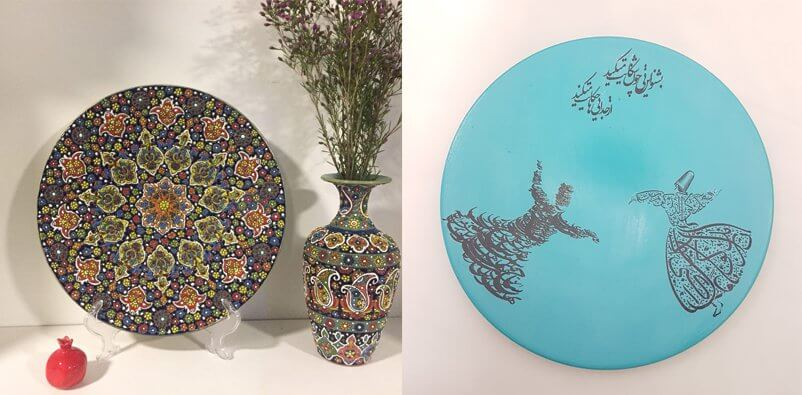 Decorative plates for home