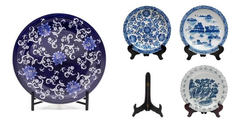 Decorative Plates With Stands