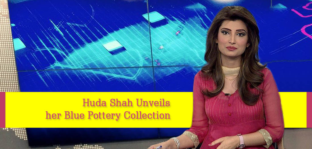Huda Shah Unveils her Blue Pottery Collection
