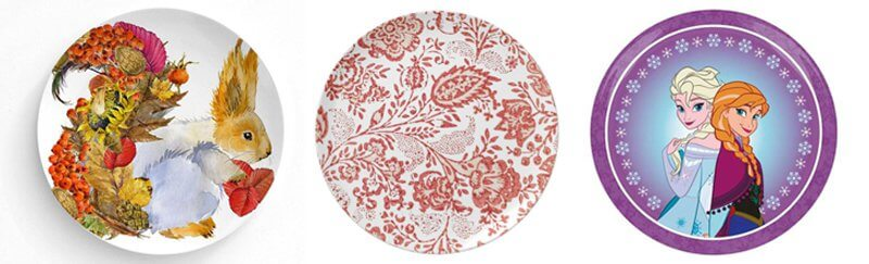 Melamine Decorative Plates