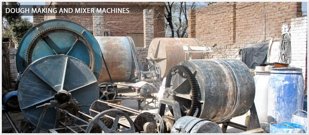 dough making and mixer machines
