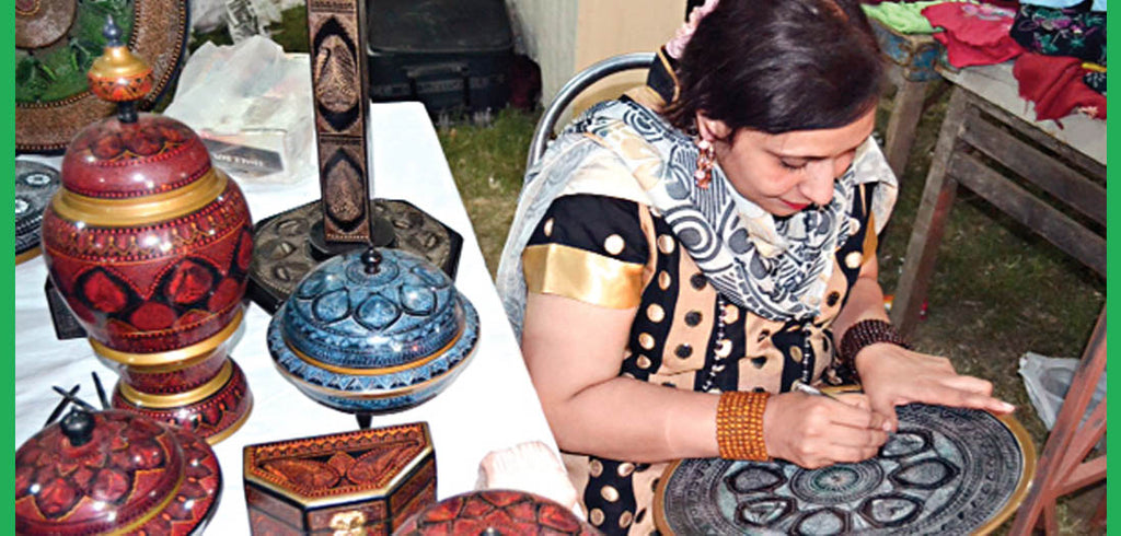 Artisans left hope for making handicrafts