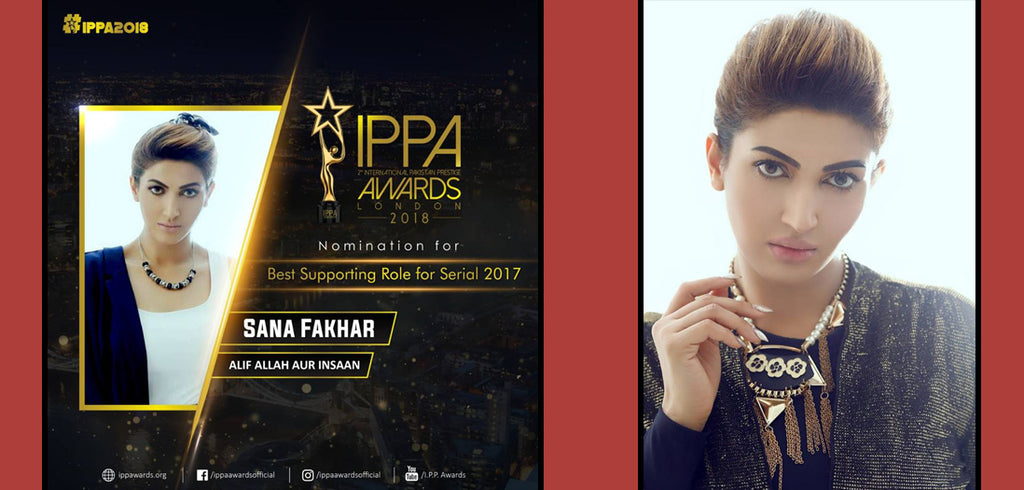 Sana Fakhar IPPA Awards 2018