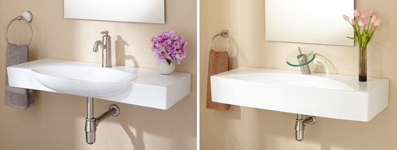 Wall-mounted Sink