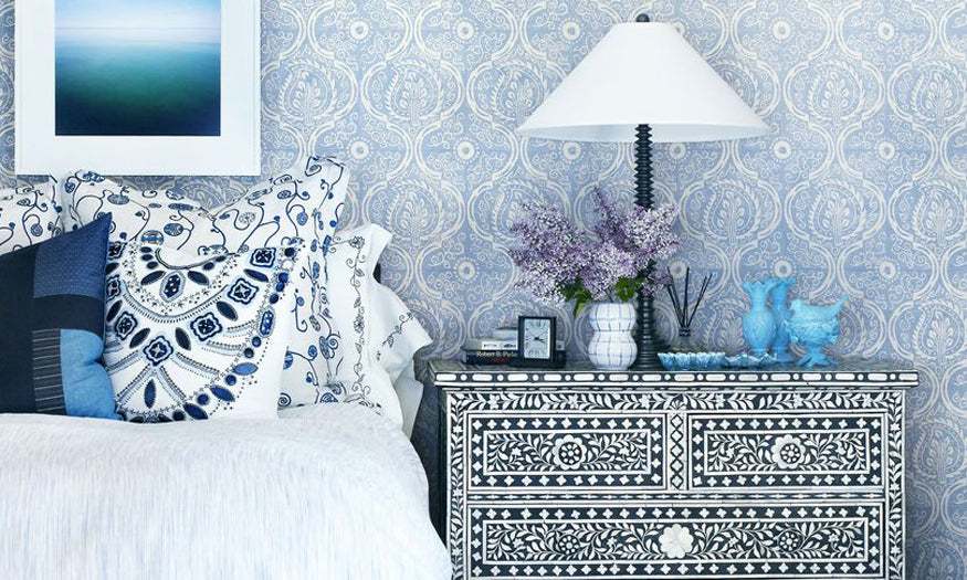 Wallpaper is the best item for instant transformation of your bedroom
