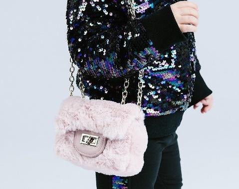 Madison Faux Fur Mini Purse