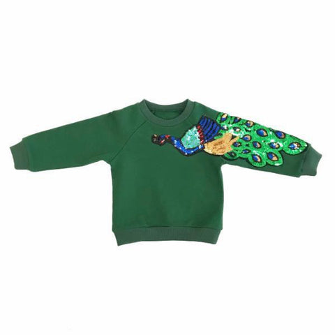 Pride of the Peacock Sweater