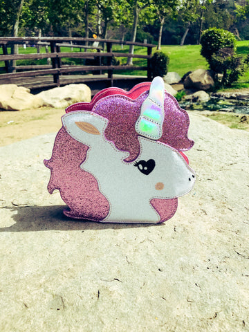 Shimmer Unicorn Purse