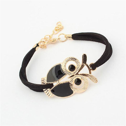DoreenBeads Fashion Owl Bangle
