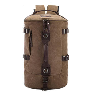 Canvas Travel Bucket Bag