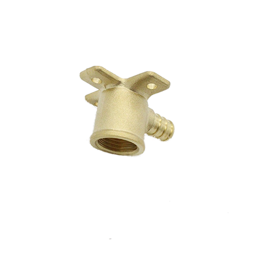 Brass Push 90 Degree Drop Ear Elbow