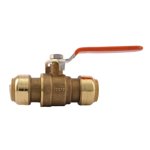 Brass Push Fit Ball Valve