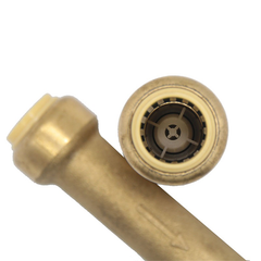 Brass Push Fit fitting Check Valve