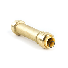 Brass Push Fit Slip Coupling