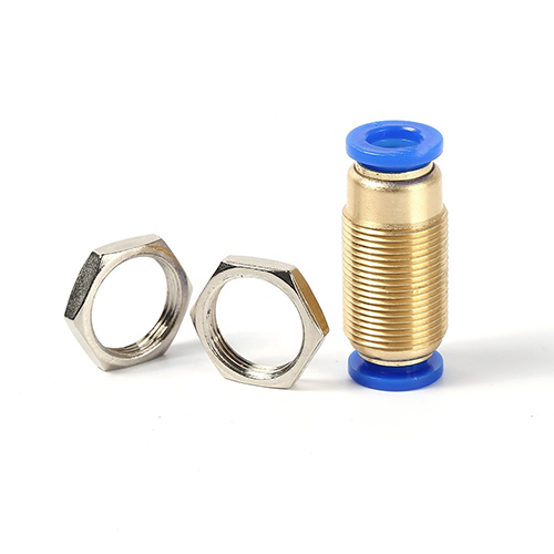 Brass Push Hose Tube Connector